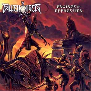 FALLEN ANGELS - Engines of oppression      CD