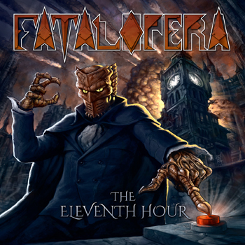 FATAL OPERA - The eleventh hour      2-CD