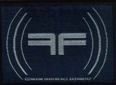 FEAR FACTORY - FF blue      Aufnäher