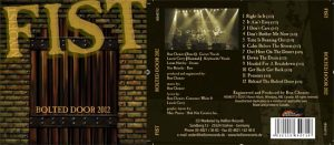 FIST (CANADA) - Bolted door 2012      CD