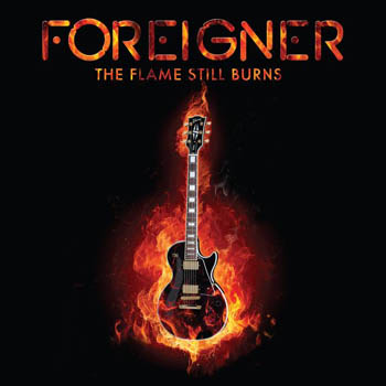 """FOREIGNER - The flame still burns      10"""""""