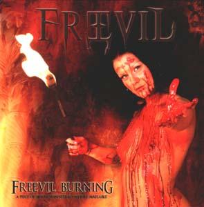 FREEVIL - Freevil burning      CD