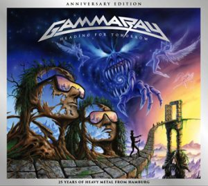 GAMMA RAY - Heading for tomorrow & bonustracks - rerelease      2-CD