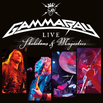 GAMMA RAY - Live - Skeletons & Majesties      Blu-Ray