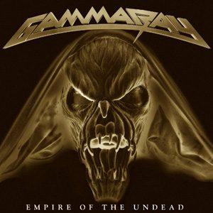 GAMMA RAY - Empire of the undead & download code & bonustrack      DLP
