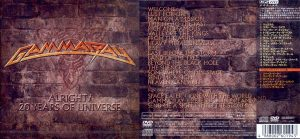 GAMMA RAY - Alright! 20 years of universe      CD&DVD