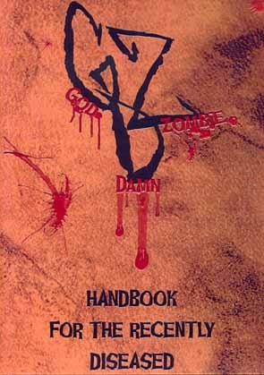 GODDAMN ZOMBIE - Handbook for the recently diseased      CD