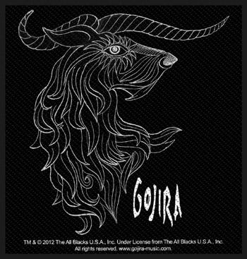 GOJIRA - Horns      Aufnäher