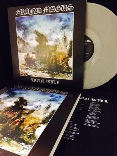 GRAND MAGUS - Iron will      LP