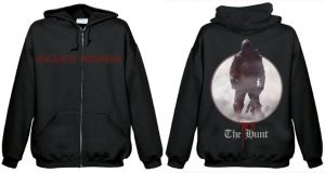 GRAND MAGUS - The hunt - Zip - size L      Kapuzenpulli - 100 % Baumwolle