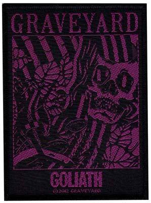 GRAVEYARD - Goliath      Aufnäher