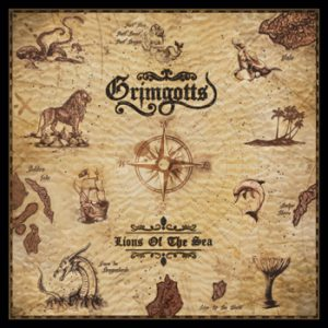 GRIMGOTTS - Lions of the sea      CD