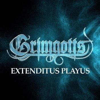 GRIMGOTTS - Extenditus playus / Here be      CD