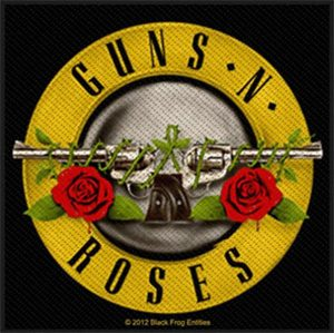 GUNS`N`ROSES - Bullet logo      Aufnäher