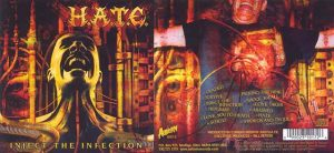 H.A.T.E. - Inject the infection      CD