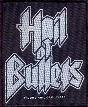 HAIL OF BULLETS - Logo      Aufnäher