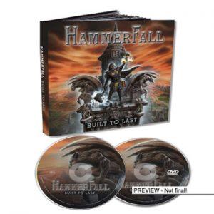 HAMMERFALL - Built to last      CD&DVD