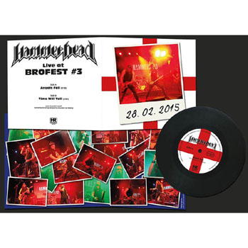HAMMERHEAD - Live at Brofest      Single