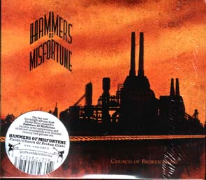 HAMMERS OF MISFORTUNE - Fields / Church of  broken...      CD