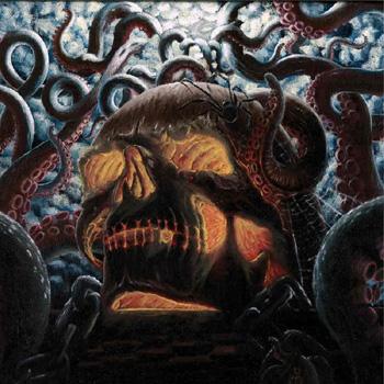HANDS OF ORLAC / THE WANDERING MIDGET - split      LP