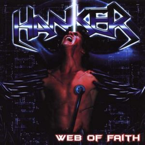 HANKER - Web of faith - clear vinyl      DLP