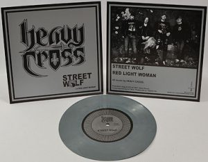 HEAVY CROSS - Street wolf - grey vinyl      Single
