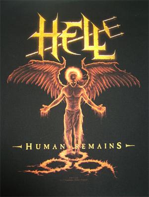 HELL - Human remains      Rückenaufnäher