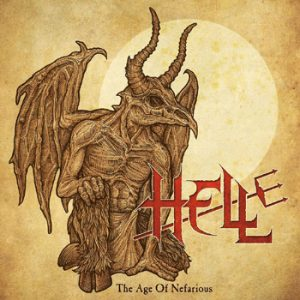 HELL - The age of Nefarius      10""