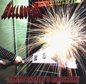HELLHOUND - Tokyo flying V massacre      CD
