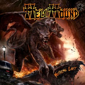 HELLHOUND - Nothing left - 3 d COVER!!      CD