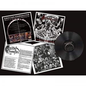 HELLISH CROSSFIRE - Slaves of the burning pentagram      LP