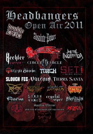 VA - Headbangers Open Air 2011      2-DVD