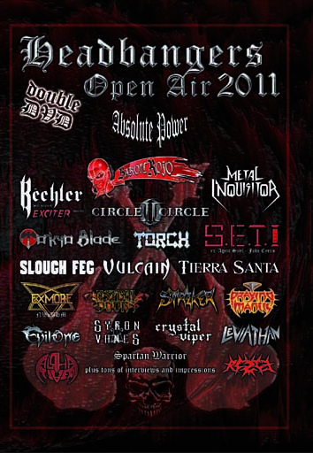 VA - Headbangers Open Air 2011      2-DVD