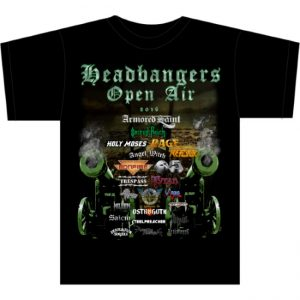 HEADBANGERS OPEN AIR - 2016 - size S or M - last ones ever!!      T-Shirt - 100 % Baumwolle