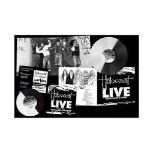 HOLOCAUST - Live (hot curry & wine) - bi coloured vinyl      LP