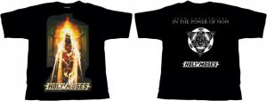 HOLY MOSES - In the power of now - size L      T-Shirt - 100 % Baumwolle