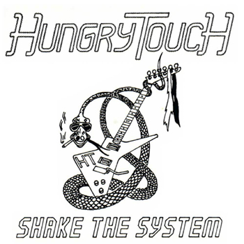 HUNGRY TOUCH - Shake the system      CD