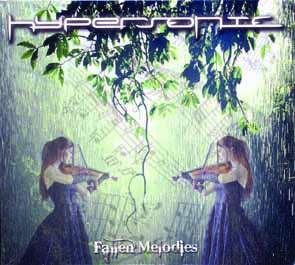 HYPERSONIC - Fallen melodies      CD