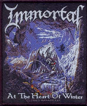 IMMORTAL - At the heart of winter      Aufnäher