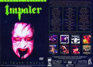 IMPALER - 20 years undead      DVD
