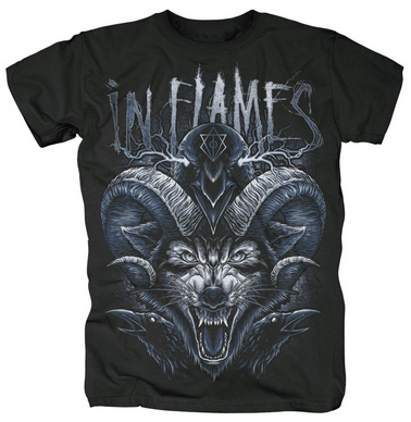 IN FLAMES - Howl of death - size M      T-Shirt - 100 % Baumwolle