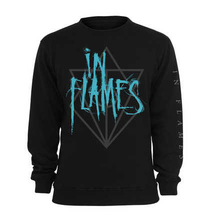 IN FLAMES - Scratch logo - size L      Sweatshirt