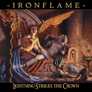 IRONFLAME - Lightning strikes the crown      CD