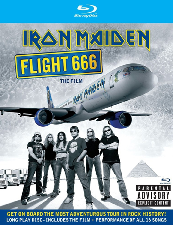 IRON MAIDEN - Flight 666      Blu-Ray