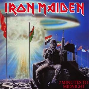 IRON MAIDEN - 2 minutes to midnight - rerelease      Single