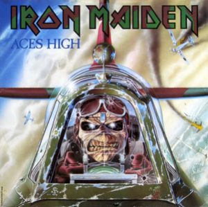 IRON MAIDEN - Aces high - rerelease      Single