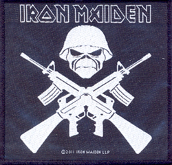 IRON MAIDEN - A matter of life and death      Aufnäher