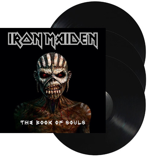 IRON MAIDEN - The book of souls      3-LP