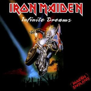 IRON MAIDEN - Infinite dreams (live) - rerelease      Single