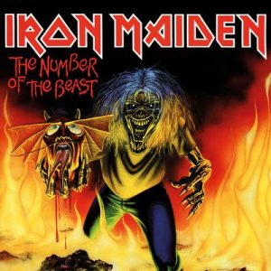 IRON MAIDEN - Number of the beast - rerelease      Single